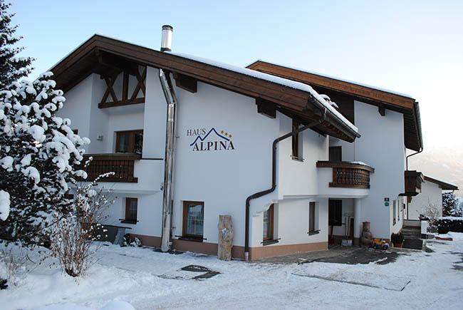 Träume werden im Winter bei uns wahr Haus Alpina in Fiss